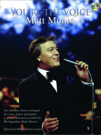 Youre The Voice: Matt Monro: Piano Vocal Guitar: Bk&cd