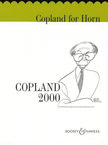 Copland 2000 For French Horn & Piano (Boosey & Hawkes)