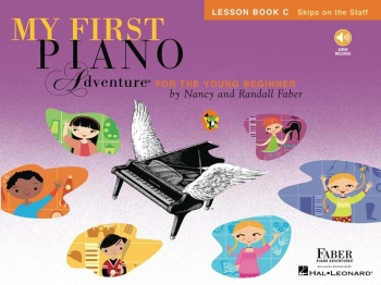 Faber Piano Adventures: My First Piano Adventure: Lesson Book C: Skips On The Staff