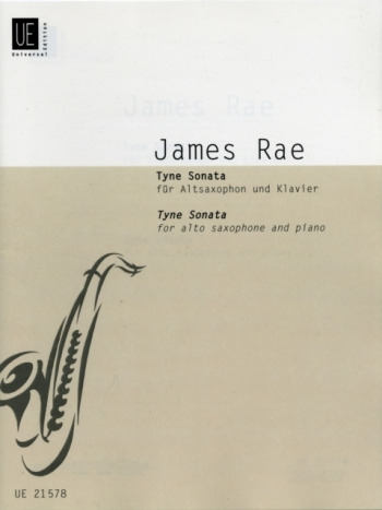 Tyne Sonata: Alto Saxophone And Piano  (James Rae)