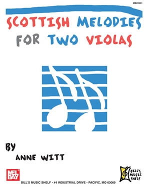 Scottish Melodies For Two Violas