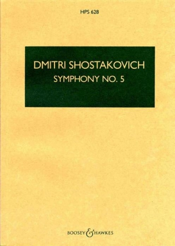 Symphony No. 5: Op. 47: D Minor: Miniature Score