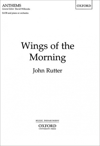Wings Of The Morning: Vocal: SATB
