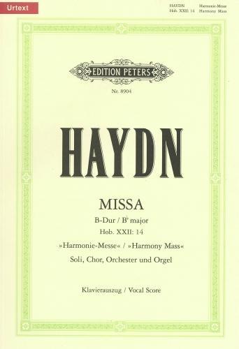 Mass In Bb Major Harmonie-messe Hob.XXII/14 : Vocal Score