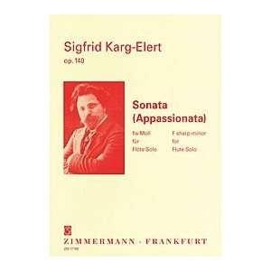 Sonata: Appassionata: Flute Solo (Zimerman)