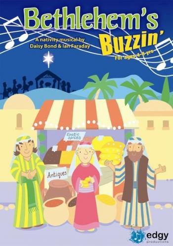 Bethlehems Buzzin: Nativity: Ages 4-8: Bk&CD