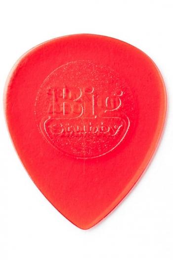 Jim Dunlop 1mm Big Stubby Guitar Plectrum Player Pack Of 6