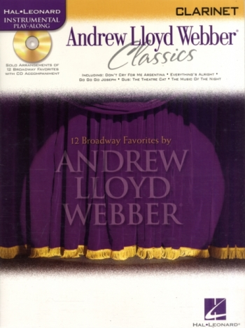 Instrumental Play-along: Andrew Lloyd Webber Classics: Clarinet: Bk&cd