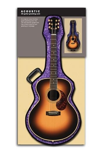 3D Card - Acoustic Guitar