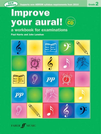 Improve Your Aural Grade 2: Book & CD (New Edition From 2010-2011) (Paul Harris)
