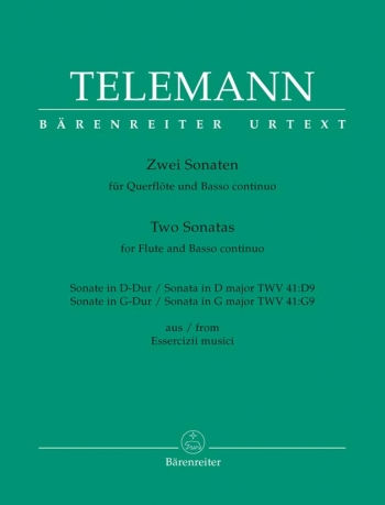 Two Sonatas: Flute & Piano (Barenreiter)