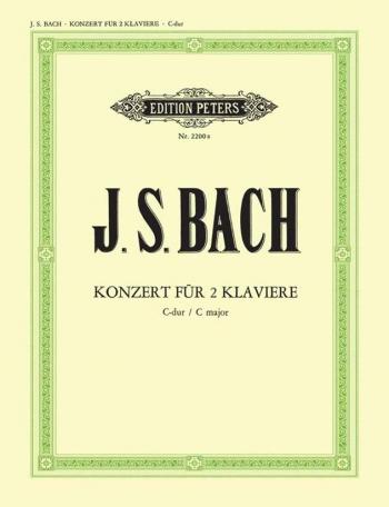 Concerto  Double: C Major : BWV 1061 2 Pianos