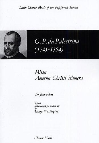 Missa Aeterna Christi Munera: Satb