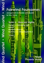 Fairwind Foursomes: Moscow Nights: Book 6: Flexible Wind Quartet