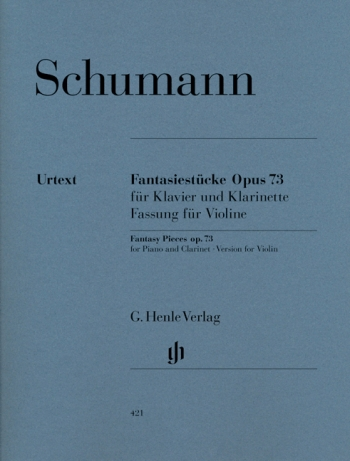 Fantasy Pieces: Op73: Edition For Violin & Piano (Henle)