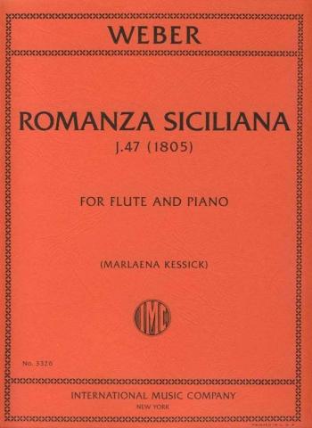 Romanza Siciliana J47: Flute & Piano (International)