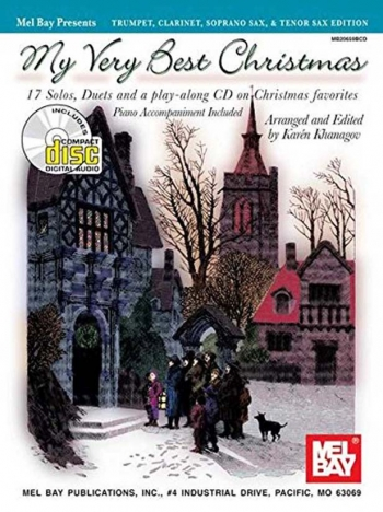 My Very Best Christmas: 17 Solos And Duets: B Flat Instruments Edition: Book & Cd