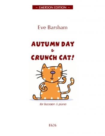 Autumn Day And Crunch Cat: Bassoon And Piano (Emerson)