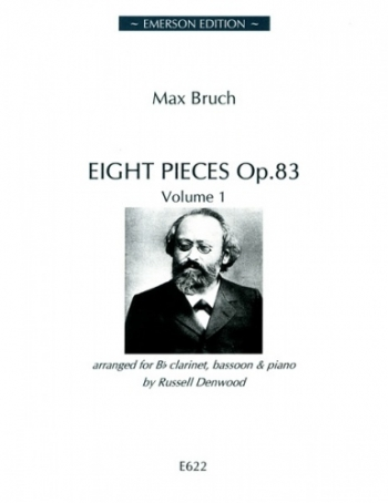 Eight Pieces: Op. 83: Vol 1: Clarinet Bassoon And Piano