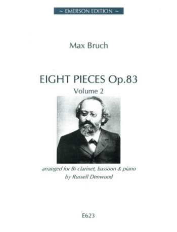 Eight Pieces: Op. 83: Vol 2: Clarinet Bassoon And Piano