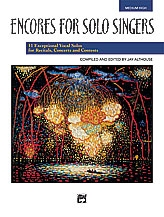 Encores For Solo Singers  Medium High For Solo Voice & Piano: Bk&Cd
