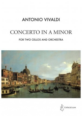 Violin Concerto A Minor Op.3/8 Two Cellos And Piano (CelloLid)
