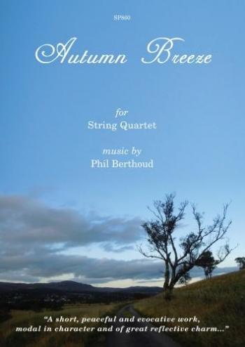 Berthoud: Autumn Breeze: String Quartet: Score & Parts