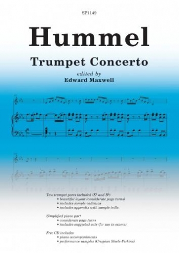 Trumpet Concerto: Trumpet And Piano