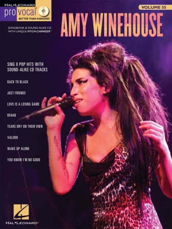 Pro Vocal: Amy Winehouse Sing 8 Pop Hits: Vol 55: Top Line  & Chords: Bk&Cd