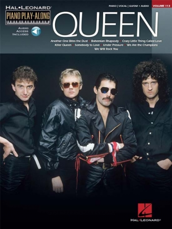 Queen: Piano Play Along: Vol 113: PVG: Bk&cd