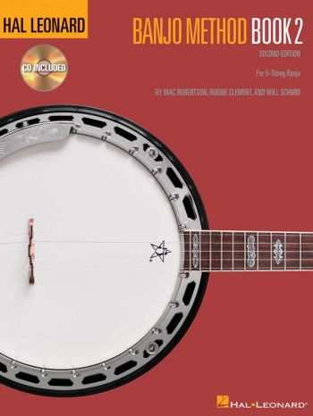 Hal Leonard Banjo Method: Book 2: Book And Cd