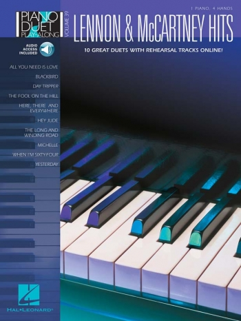 Piano Duet Play Along: Lennon And Mccartney Hits: Vol 39: Book And CD