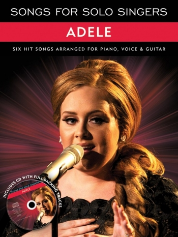 Songs For Solo Singers: Adele: Piano Vocal Guitar Album