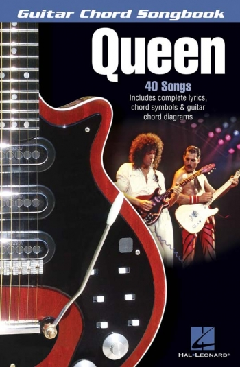 Guitar Chord Songbook: Queen: 40 Songs: Lyrics And Guitar Chords
