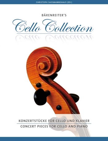 Barenreiters Cello Collection: Concert Pieces For Cello & Piano (Sassmannshaus) (Barenrieter)