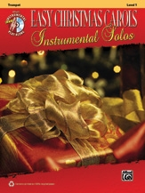 Easy Christmas Carols Instrumental Solos: Trumpet: Bk&cd