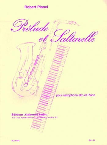Prelude Et Saltarello: Alto Saxophone & Piano
