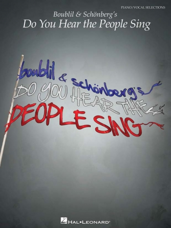 Do You Hear The People Sing: Piano Vocal Guitar