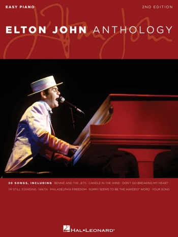 Elton John: Anthology: Second Edition: Easy Piano Vocal Guitar