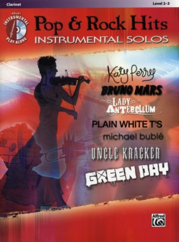 Pop And Rock Hits: Instrumental Solos: Clarinet: Book & CD