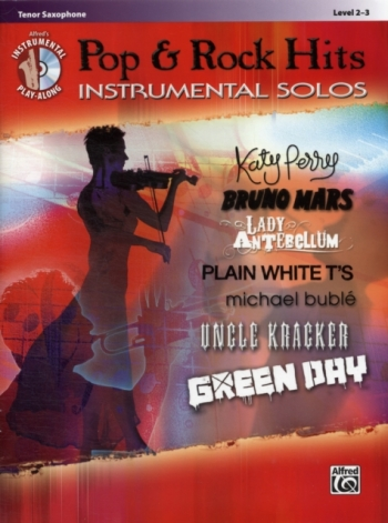 Pop And Rock Hits: Instrumental Solos: Tenor Saxophone