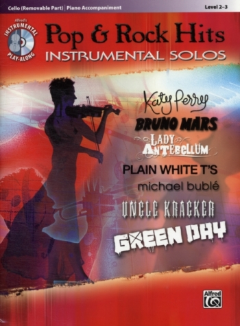 Pop And Rock Hits: Instrumental Solos: Cello And Piano Book & CD