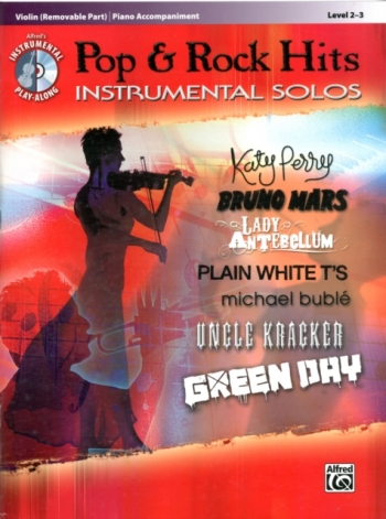 Pop And Rock Hits: Instrumental Solos: Violin And Piano