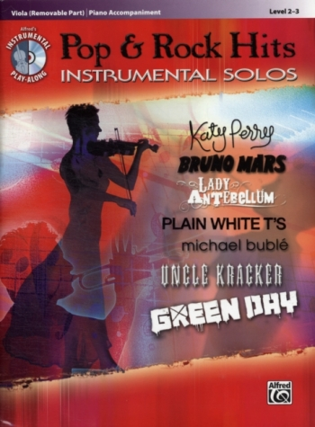 Pop And Rock Hits: Instrumental Solos: Viola And Piano