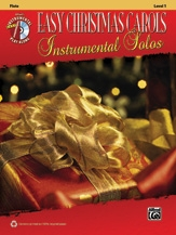 Easy Christmas Carols: Instrumental Solos: Flute: Bk&cd
