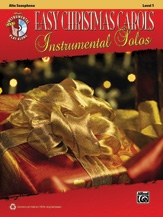 Easy Christmas Carols: Instrumental Solos: Alto Saxophone: Bk&cd