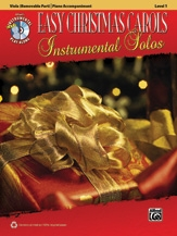 Easy Christmas Carols: Instrumental Solos: Viola And Piano Acompaniment: Bk&cd