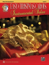 Easy Christmas Carols: Instrumental Solos: Piano Acompaniment: Bk&cd