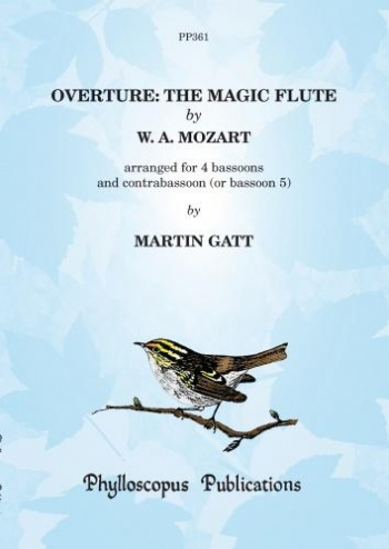 The Magic Flute: Overture: Bassoon Ensemble