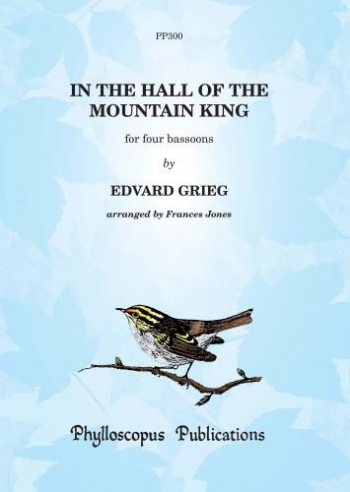 In The Hall Of The Mountain King: Bassoon Quartet: Score & Parts